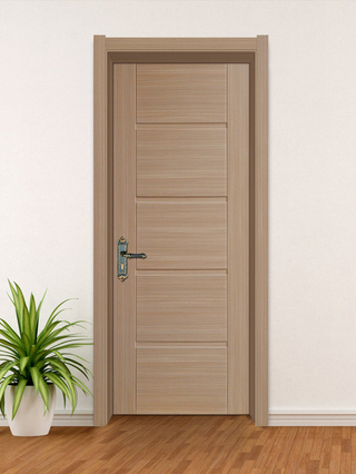 YK-603 WPC Door (Wood Plastic Composite Door) ,Water-proof ,Interior Door