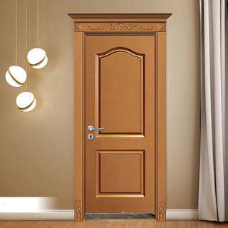 YK-803a Interior WPC Door for Hotel Project with Waterproof and Sound Insulation / pvc door / abs door / polymer door