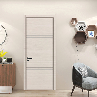 YK-116 China factory price wood plastic composite wpc door / abs door / polymer door / pvc door