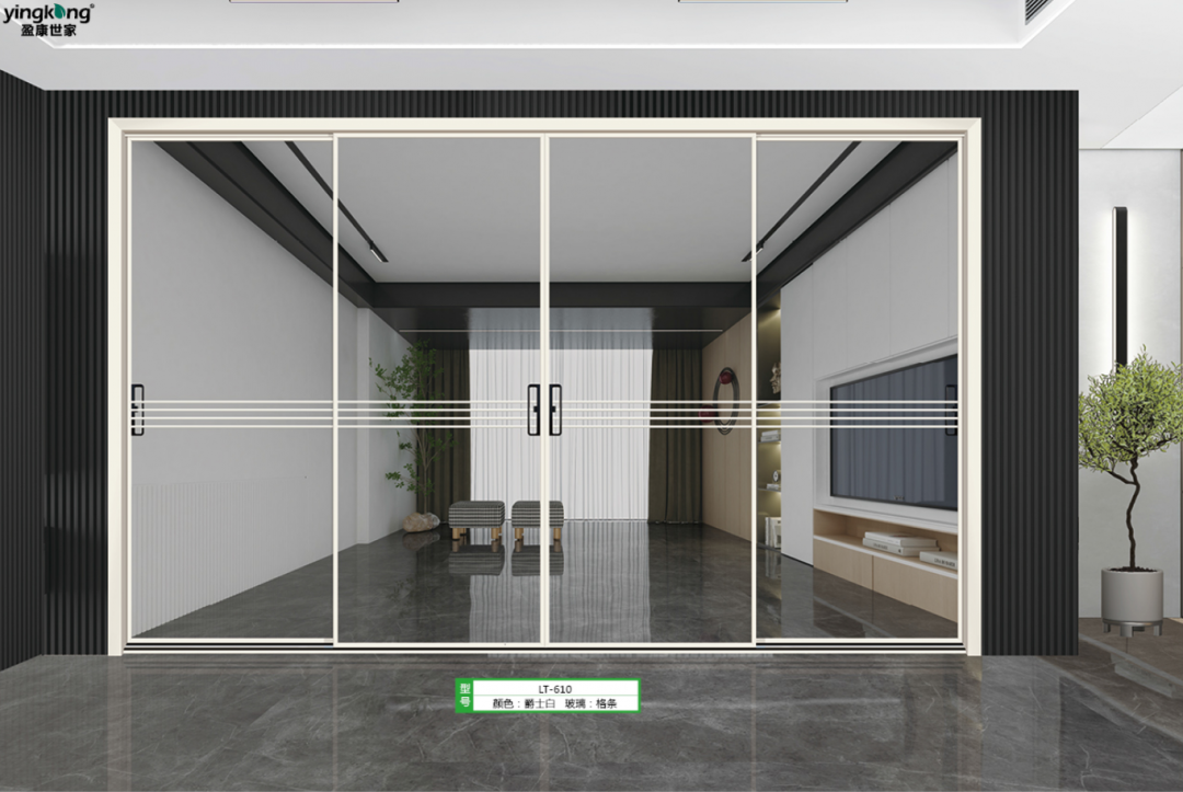 JIUYIXING-2021 new aluminum doors officially meet everyone