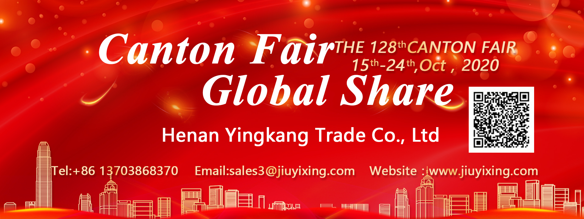 We'll wait for you at the 128th Canton Fair
